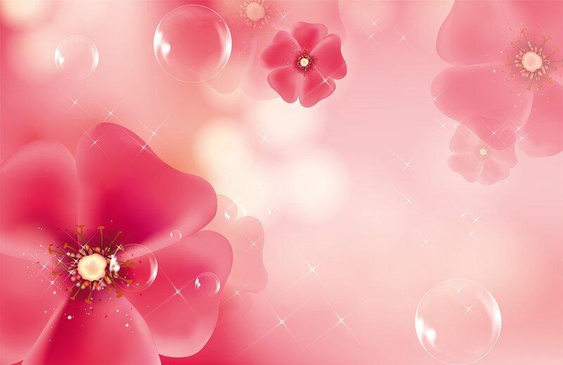 Цветочный фоны 1