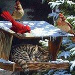 новогодние открытки 49