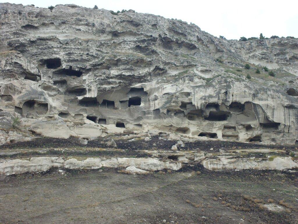 Сравните пещеры в Крыму и в Ципово