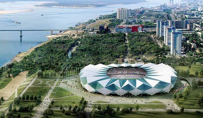 Стадион в Влгограде