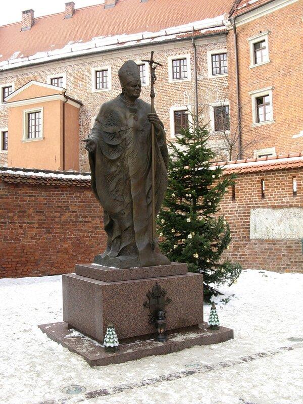 Winter In Kraków. Wawel