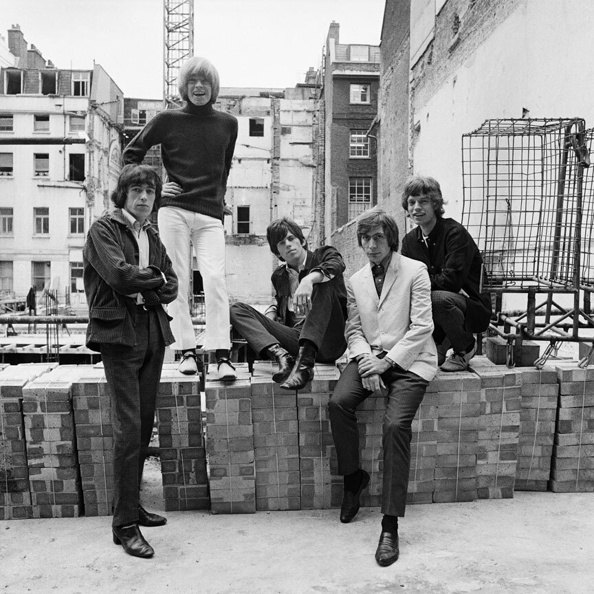 Rolling Stones by Gered Mankowitz,1965