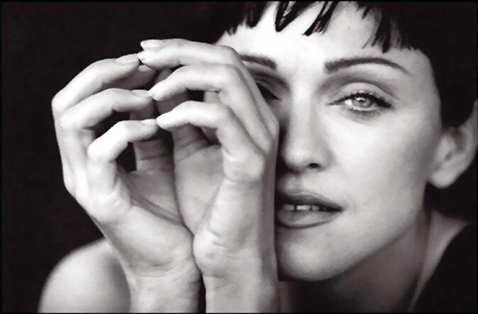 Madonna by Peter Lindberg