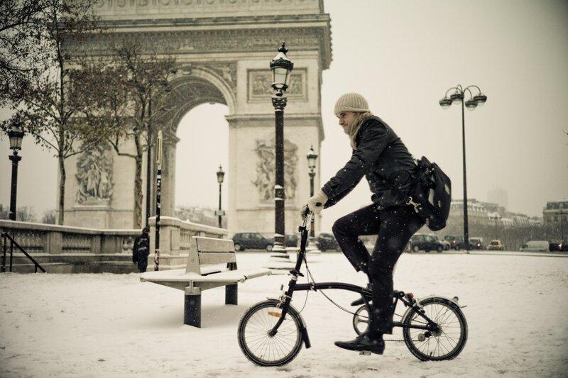 ride snow work triumph paris photos by Yanidel