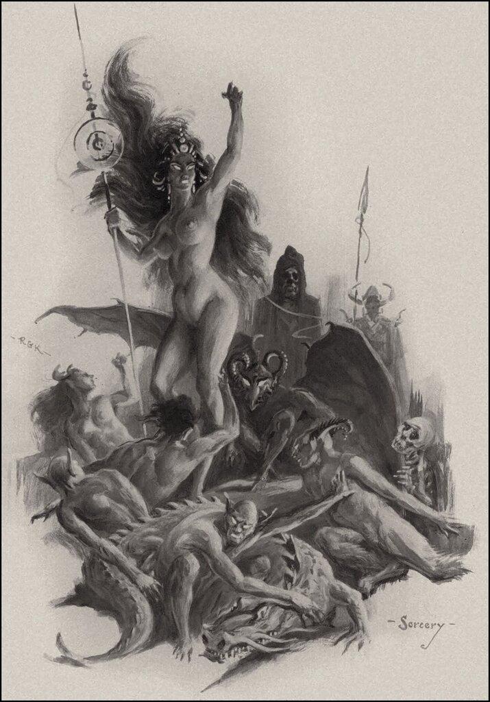Roy Krenkel Sorcery