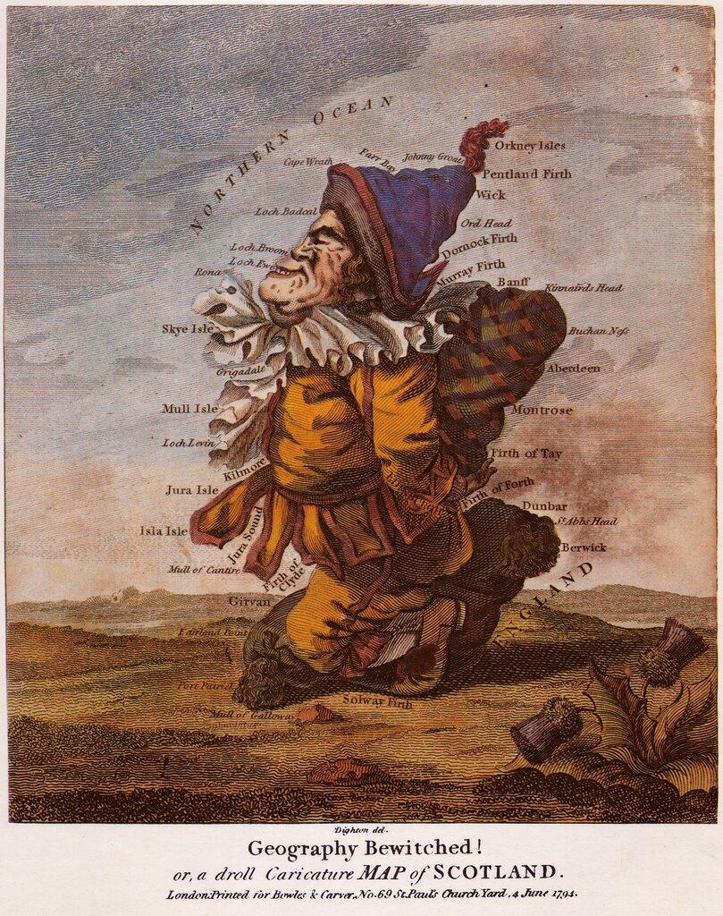 Винтажные географические карты