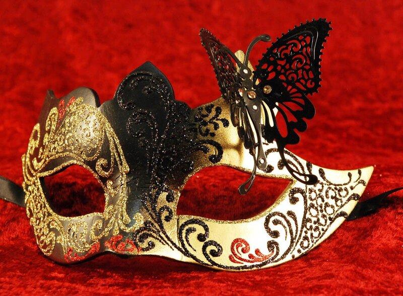 Венецианская маска своими руками в домашних условиях