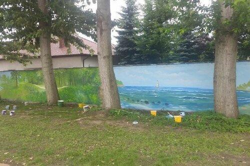 50-метровая картина русского художника поставила рекорд Гиннесса