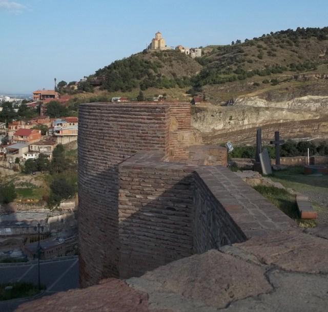 Древняя крепость НАРИКАЛА в Тбилиси (2)