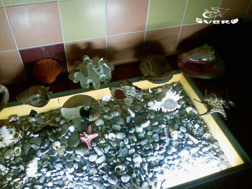 019. ванная комната, инсталляция пола с подсветкой, триплекс