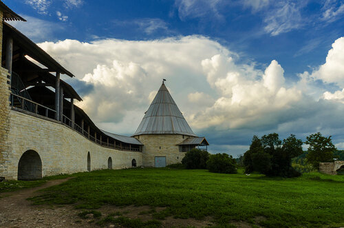 В Староладожской крепости