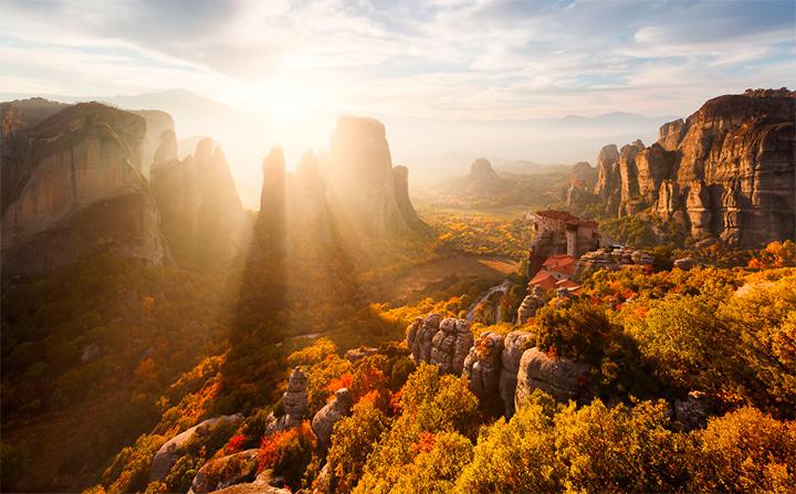 солнце в Греции