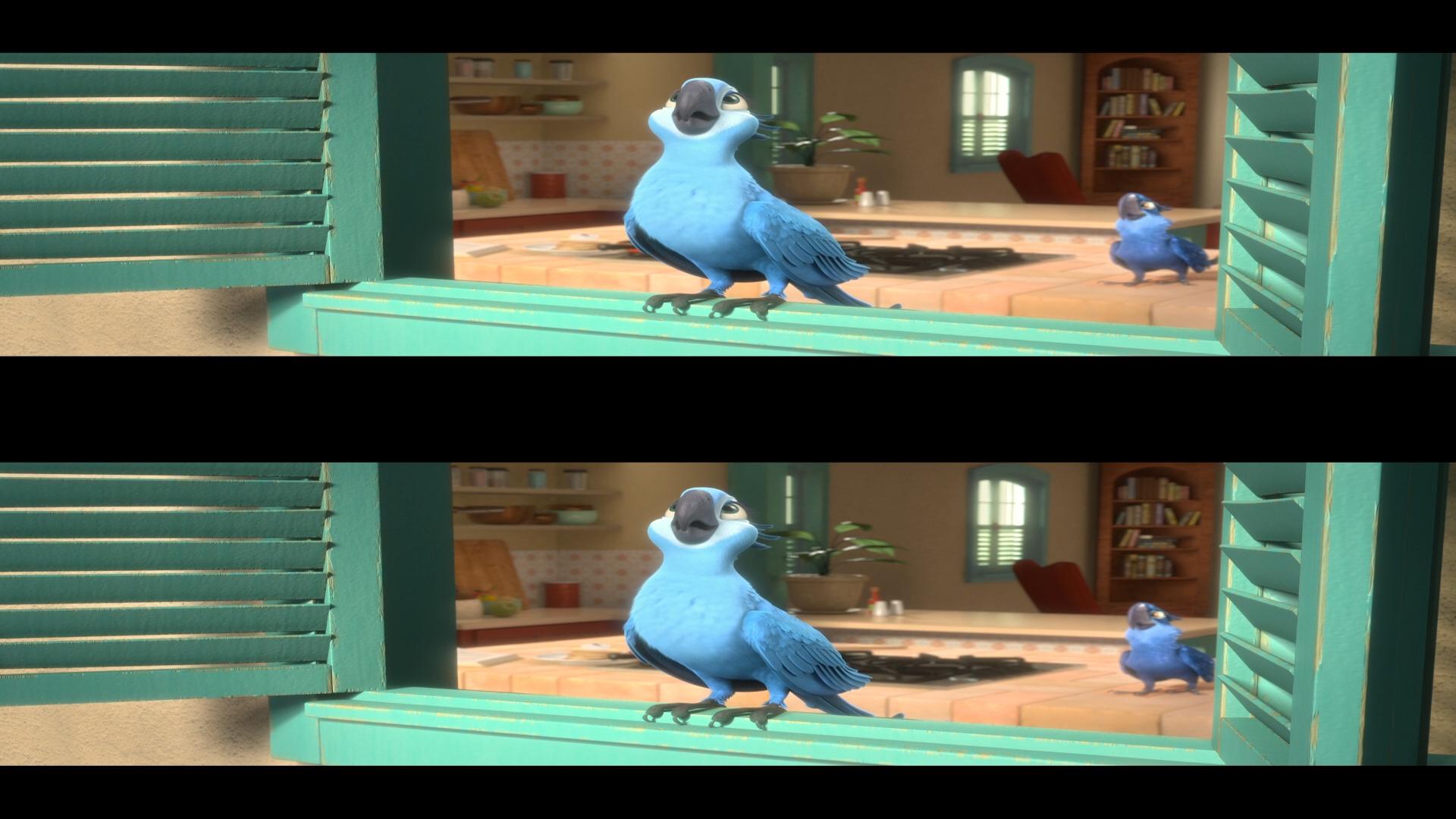 Жемчужинка и голубчик, мультфильм Рио скачать