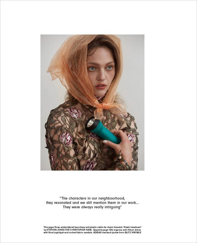 Саша Пивоварова для AnOther Magazine