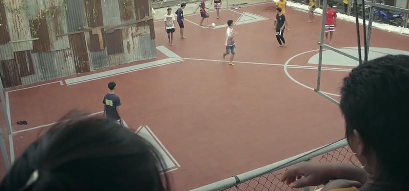 Футбольные поля нестандартной формы в Тайланде