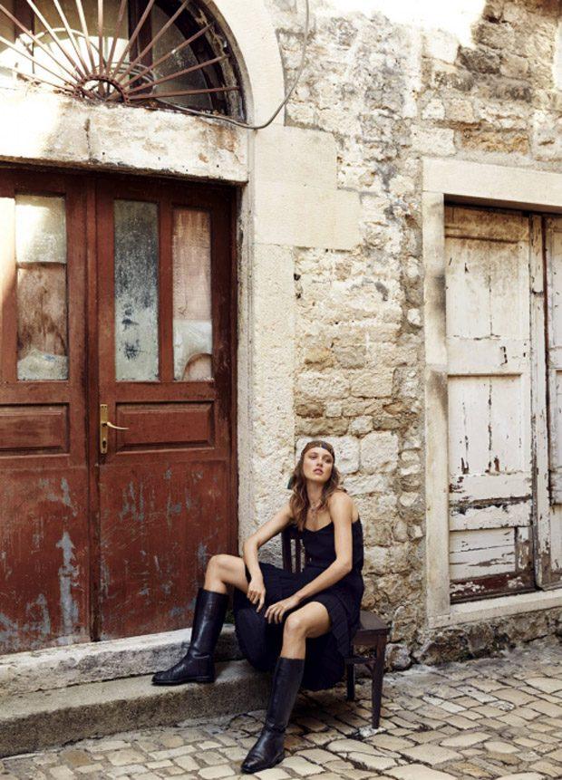 Кармен Педару в Harper's Bazaar Australia