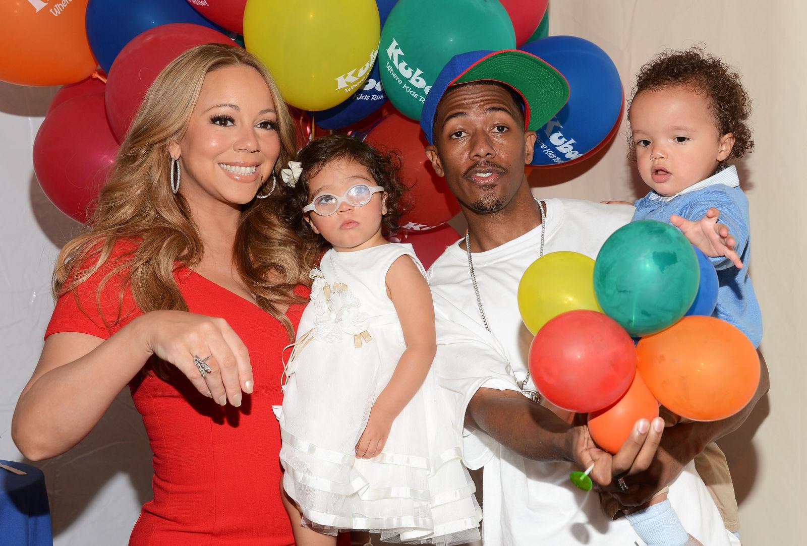 Мэрайя Кэри и Ник Кэннон У пары, которая сейчас уже в разводе, в 2011 году появились близнецы Морокк