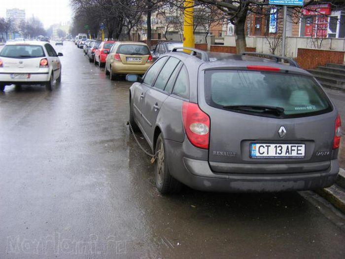 Автомобили в Румынии (25 фото)