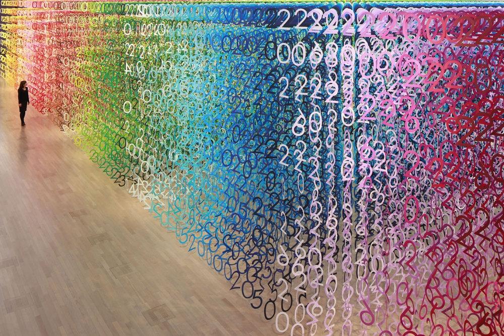 разноцветные картинки из цифр