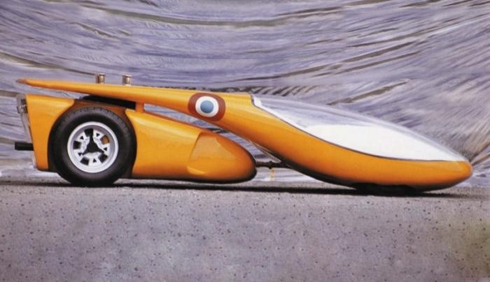 Colani Horch Mega-Roadster (1996) Попытка создать дизайн для возрождения легендарной марки Horch.