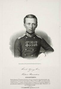 Павел Васильевич Преснухин, штабс-капитан 6-го саперного батальона