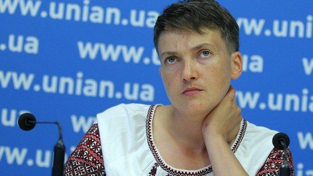 Савченко винтервью Шарию прокомментировала подозрения вработе на Российскую Федерацию
