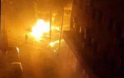 Упосольства Италии вЛивии взорвался автомобиль