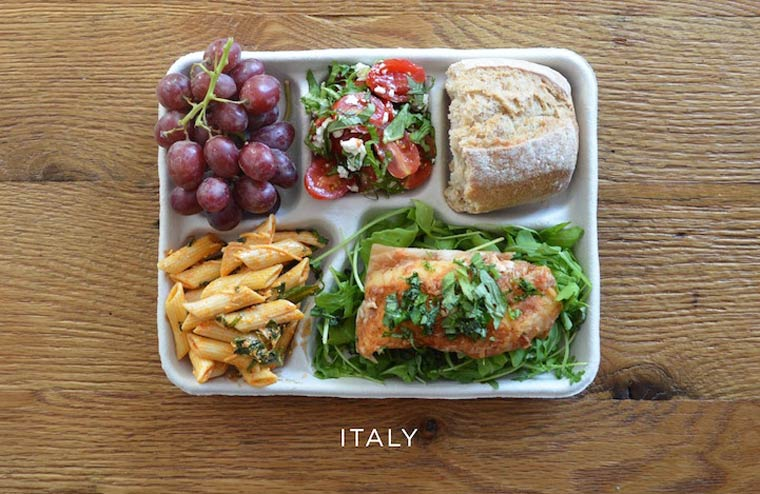 School Lunches - What do the school meals look like around the world?