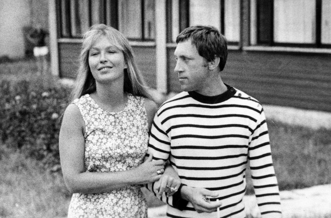 Марина Влади и Владимир Высоцкий. Фото О.Мартинсон
