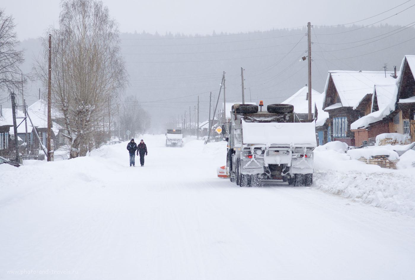 Фото 36. Уборка снега. Параметры камеры: 1/250 сек, 0 eV, приоритет диафрагмы, f/4, 55 мм, 250