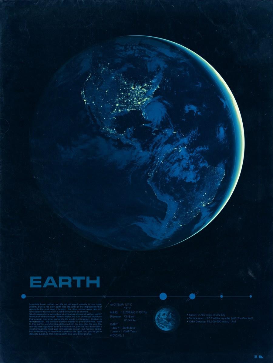 Solar System Planets Prints by Justin Van Genderen (8 pics)
