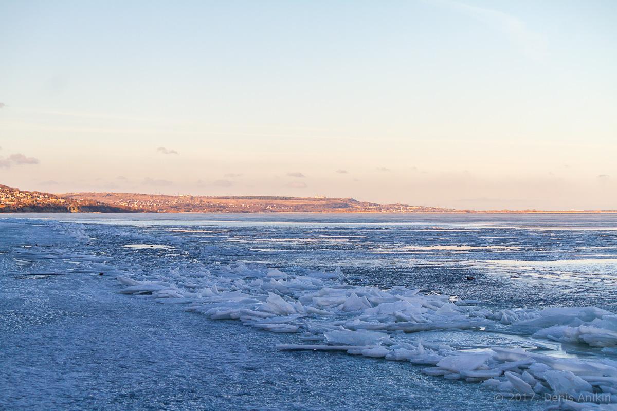 Волга весна лёд фото 7