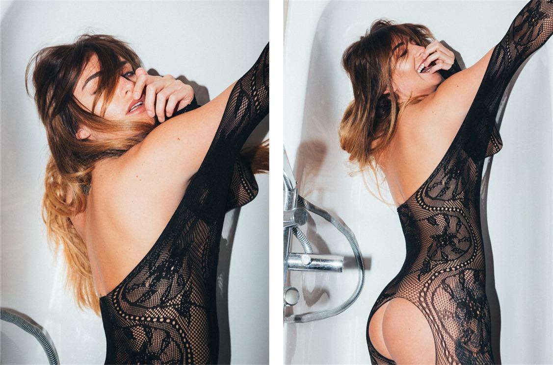 обнаженная модель  Скарлет Буве / Scarlet Bouvier nude by Ian Lim for Yume Magazine