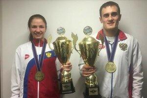 Пономарева и Захаров - чемпионы Европы по кикбоксингу.jpg
