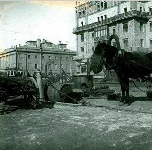 1910. Дорожные работы