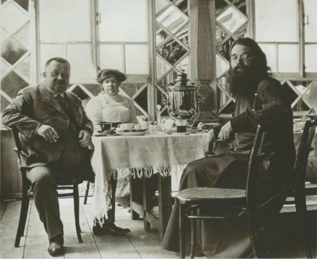 1900-е. Отец Сергий