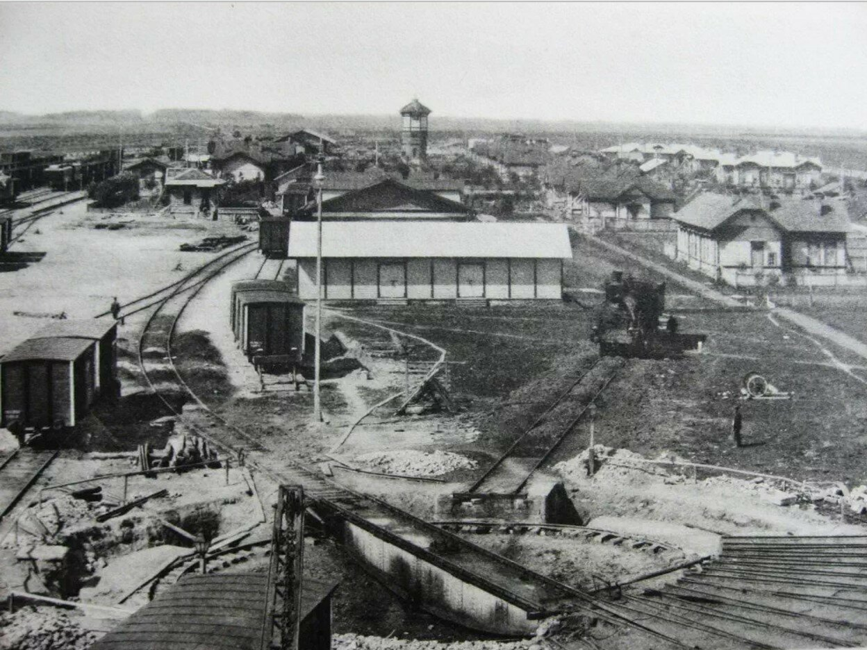 Панорама станции Ржев