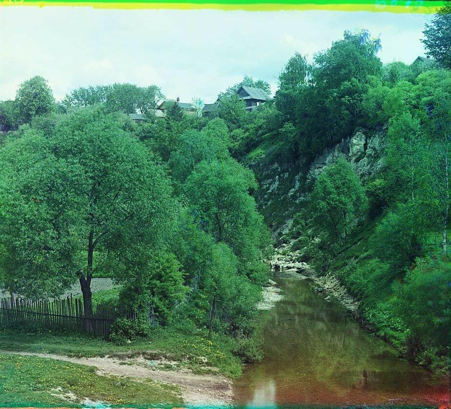 Речка Халынка, впадающая в Волгу.