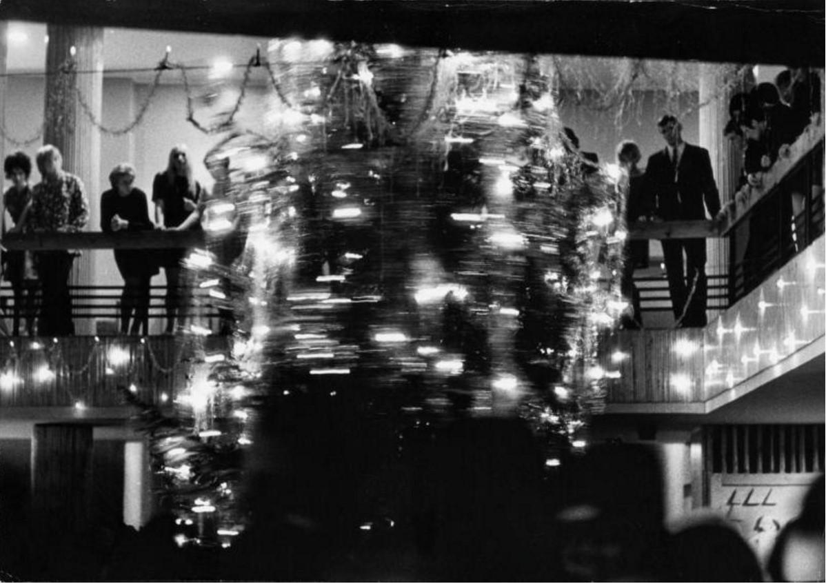 1967. Новый год. Москва