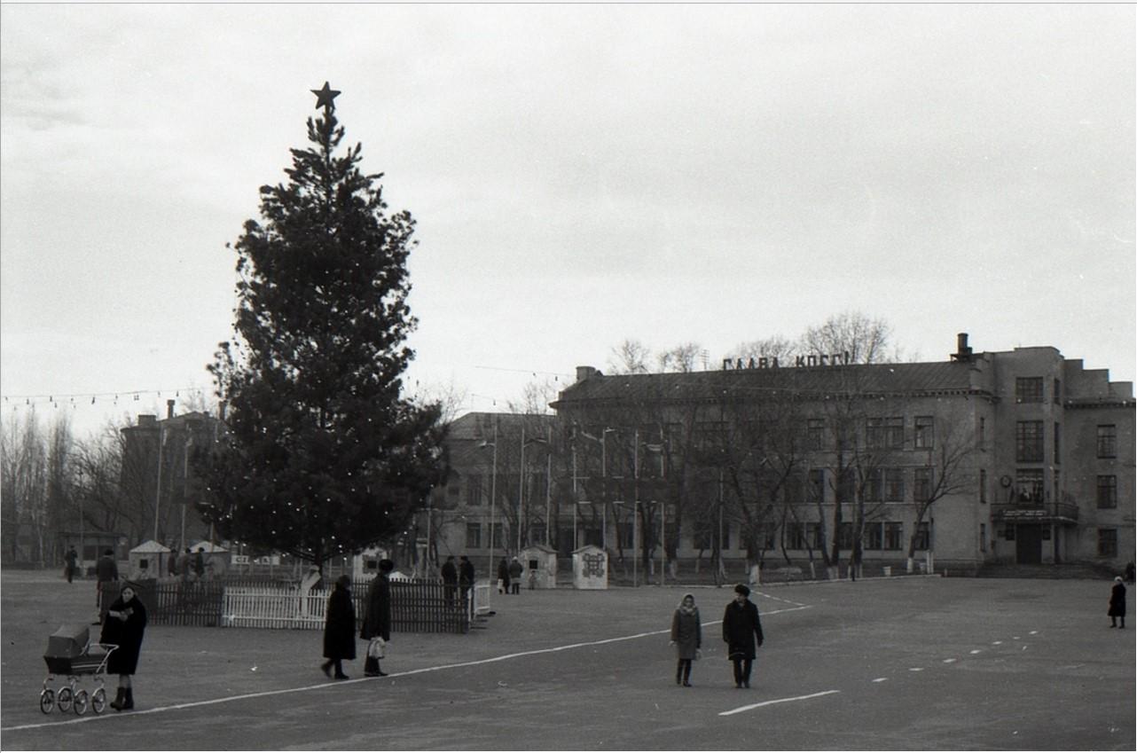 1974. Новогодняя елка. Лиски