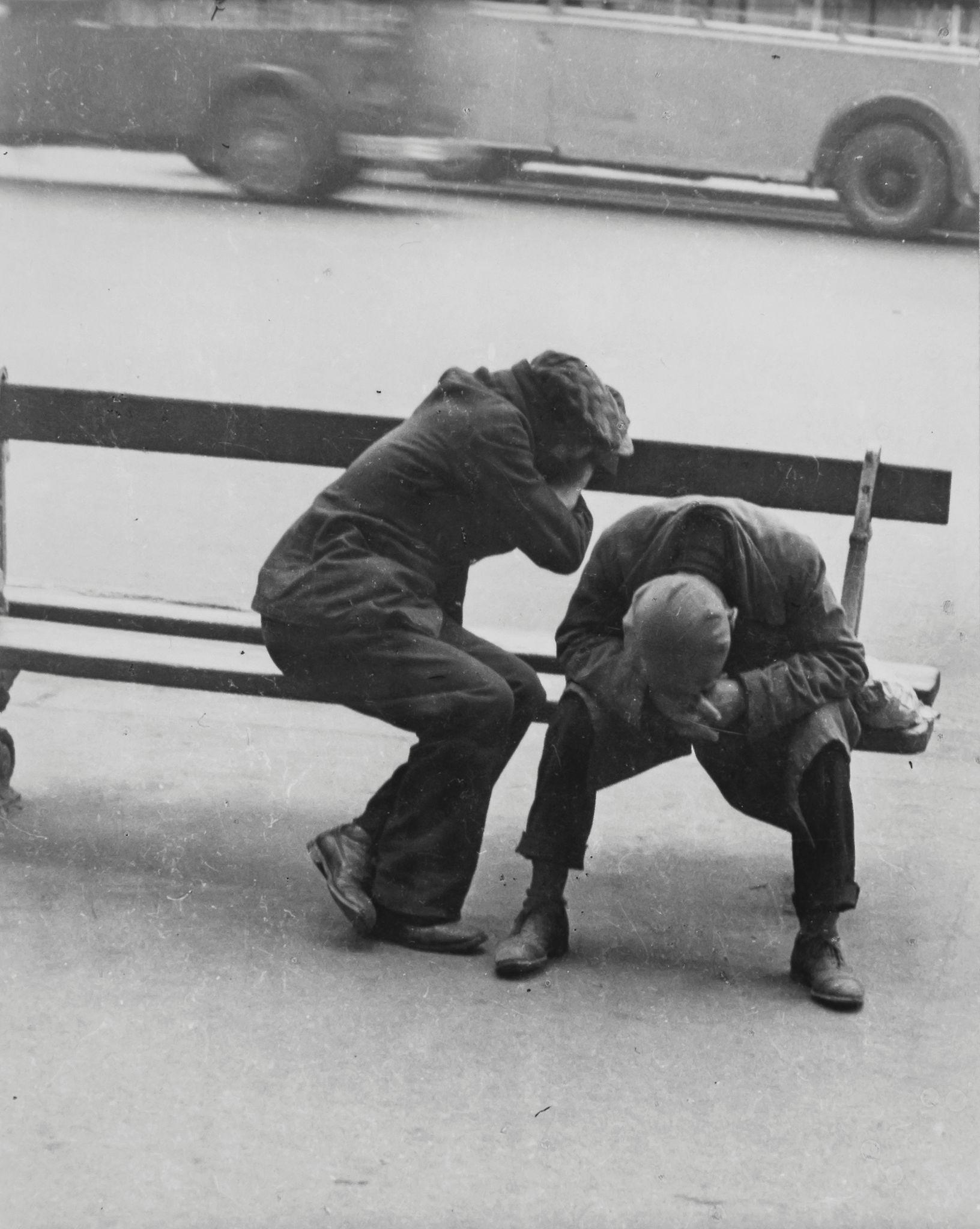 1935. Клошары, Площадь Республики