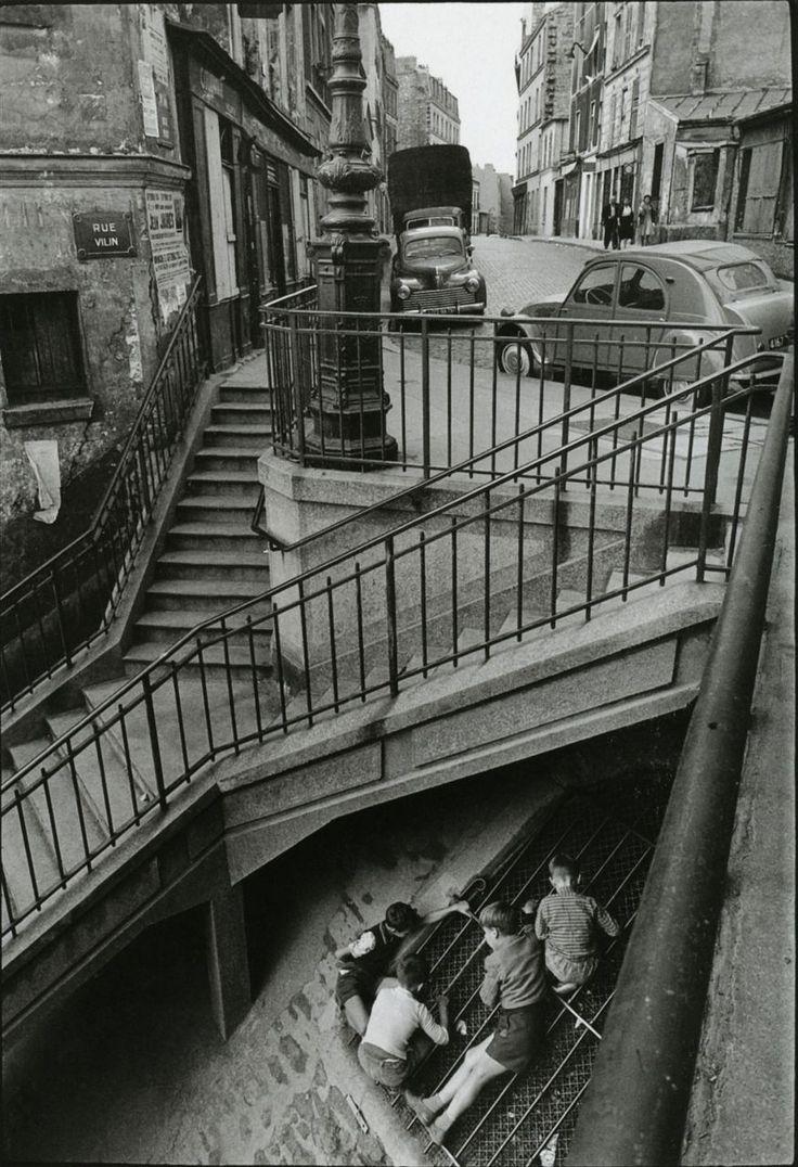 1959. Рю Вилин. Лестница