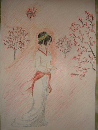 Рисунки карандашом, Яна Конова