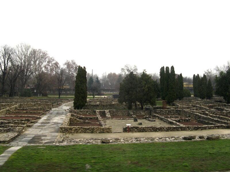 Раскопки древнеримского города Аквинк (Aquincum), Будапешт