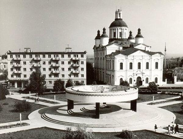 Соборная площадь. Фото 1970-х годов