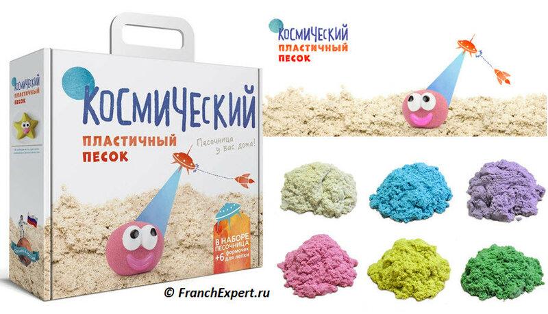 Набор пластичного песка