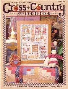 Книга Cross Country Stitching №9 1989