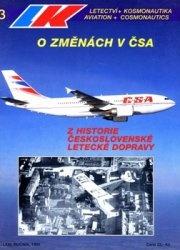 Журнал Letectvi + Kosmonautika 1995-03