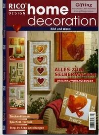 Журнал Home decoration № 03
