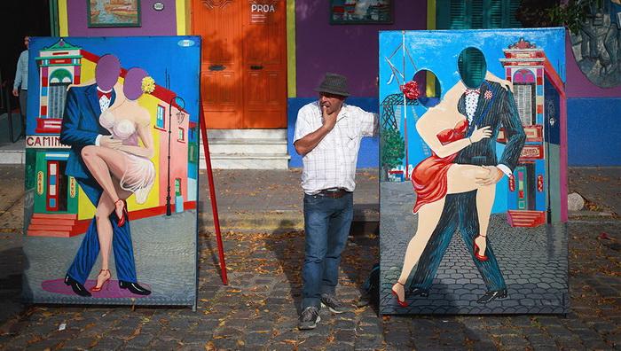 Даже туристы могут почувствовать себя в роли танцоров танго